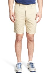Men's Bobby Jones 'Tech' Flat Front Wrinkle Free Golf Shorts Khaki