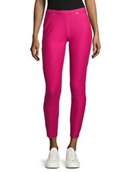 Michael Michael Kors Petite Denim Inspired Cropped Leggings Pink