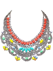Tom Binns Medium Bib Necklace Multicolour