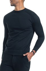 Good Man Brand Modern Slim Fit Merino Wool Sweater Black