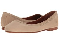Frye Carson Ballet Taupe Oiled Nubuck Women's Flat Shoes Brown