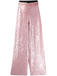 Temperley London Magnolia Trousers Pink