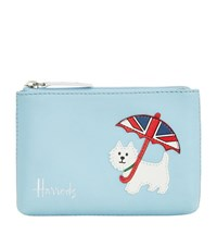 Harrods Westie Leather Coin Purse Unisex