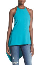 Astr Drape Back Tunic Teal Harbor