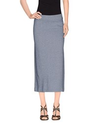 Ottod'ame Skirts 3 4 Length Skirts Women Dark Blue