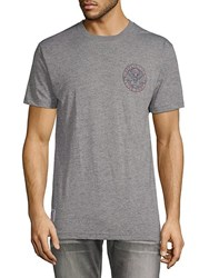 Affliction Brave Freedom Tee Heather Grey