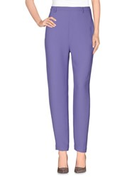 Pedro Del Hierro Trousers Casual Trousers Women Lilac