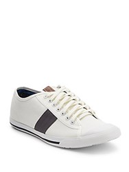 Ben Sherman Lace Up Sneakers Off White