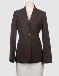 Divina Suits And Jackets Blazers Women Dark Brown