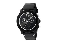 Movado Bold 3600386 Black Tr90 Stainless Steel Watches