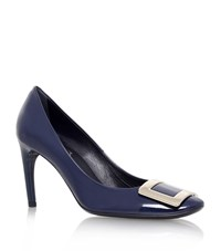 Roger Vivier Belle De Nuit Patent Pumps 85 Female Navy
