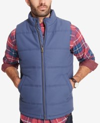 Weatherproof Vintage Men's Quilted Puffer Vest Created For Macy's Blue Indig
