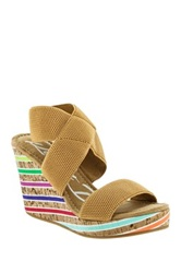 Rocket Dog Gabrieli Wedge Sandal Beige