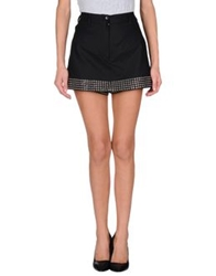 Alaia Alaia Mini Skirts Black