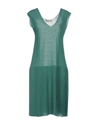 Jucca Knee Length Dresses Green