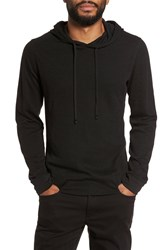 Vince Double Knit Hoodie Black
