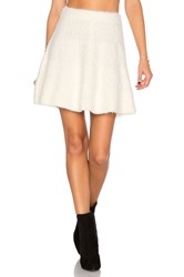 Lovers Friends Be Flirty Skirt Ivory