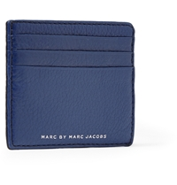 Marc By Marc Jacobs Leather Cardholder Blue