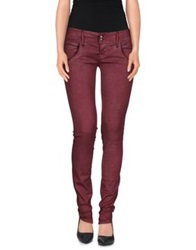 Cycle Denim Pants Garnet