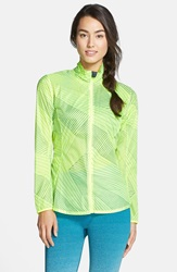 Brooks Water Resistant Ripstop Jacket Nightlife Big Sunshine
