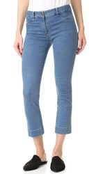 Veronica Beard Gia Pocket Denim Jeans Blue