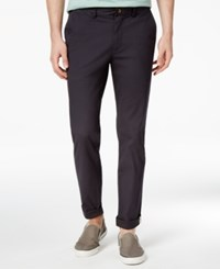 Ben Sherman Men's Slim Fit Stretch Chinos Only At Macy's Dark Navy