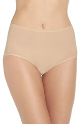 Chantelle Women's Intimates High Waist Seamless Briefs Ultra Nude