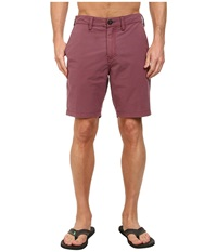Billabong New Order X Overdye 19 Hybrid Short Burgundy Men's Shorts
