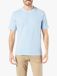 Dockers Short Sleeve Heavy Knit T Shirt Solace Blue