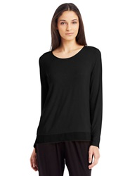 Kenneth Cole Mena Knit Top Black