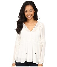 Sanctuary Melody Blouse Cr Me Women's Blouse Beige