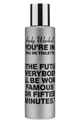 Comme Des Garcons Andy Warhol You're In Unisex Eau De Toilette In The Future