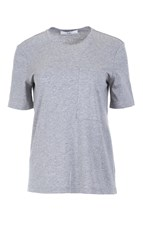Tibi Mercerized Knit Tee