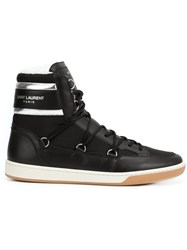 Saint Laurent 'California Ski' Hi Top Sneakers Black