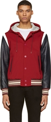 Marc By Marc Jacobs Red Techno Varisy Jacket