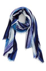 Nordstrom Women's Artist Ombre Cashmere And Silk Scarf