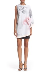 Ted Baker Women's London 'Porcelain Rose' Print Overlay Tunic