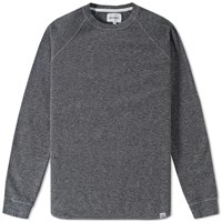 Norse Projects Aske Fine Structure Sweat Grey