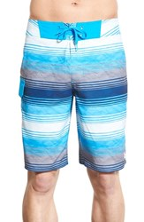 Under Armour Men's 'Reblek Ua Storm' Water Repellent Board Shorts Electric Blue Electric Blue