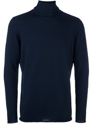 Societe Anonyme Turtleneck Jumper Blue