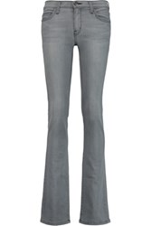 Current Elliott The Slim Boot Low Rise Jeans Mid Denim