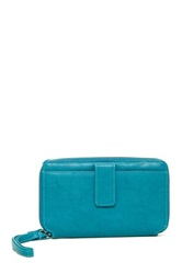 Mundi Keep It Together Wristlet Wallet Blue