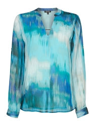 Episode Longsleeve Muntiprint Blouse Multi Coloured