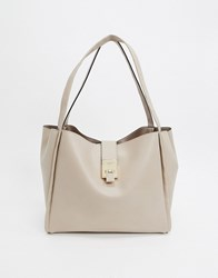 Carvela Slouchy Tote Bag In Grey