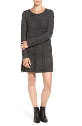 Hinge Women's Cable Knit Sweater Dress