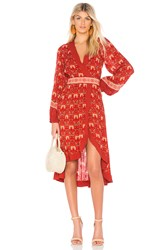 Spell And The Gypsy Collective Jewel Soiree Dress Red