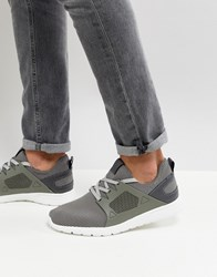 New Look Trainers In Mid Grey Mid Grey