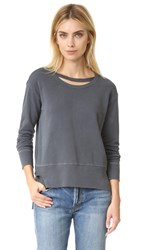 Wilt Big Slouchy Doubled Sweatshirt Dark Shadow