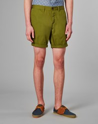 Farah Vintage Chino Shorts Green