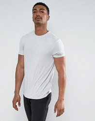 Asos T Shirt In Fine Drape Viscose Fabric In Pale Green Mint